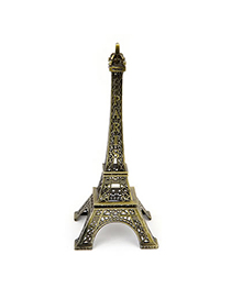 Coast Bronze Eiffel Tower Shape Alloy Household goods