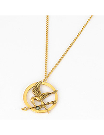 Rasta Picture Color Hollow Bird Design Alloy Korean Necklaces