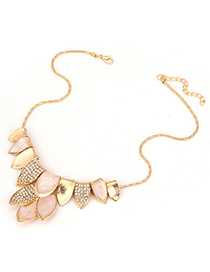 Religious Gold Color Tassels Painting Design Alloy Fashion Necklaces