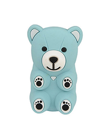 Expired Blue Bear Shape Design