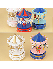 Sparrow Color Will Be Random Merry-Go-Round Wooden Household goods