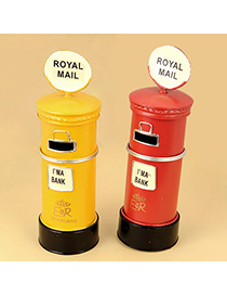 Infinity Color Will Be Random London Style Mailbox Alloy Household goods