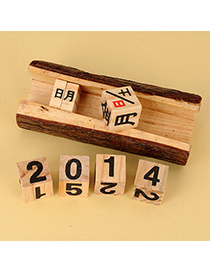 Famale Color Will Be Random Calendar Design Wooden Household goods