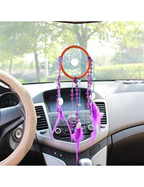 Wonderful Purple Dream Catcher Lace Household goods