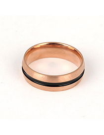 Bohemian Rose Gold Color Double Colors Design