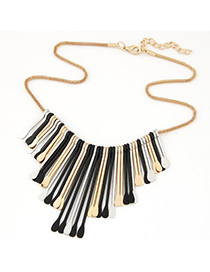 Propper black tassel decoeated simple design