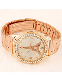 High-quality Beige Roman Numerals Pattern Simple Design