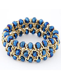 Promo Blue Multilayer Weave Design