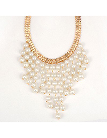 2012 White Pearl Curtain Pendant Design