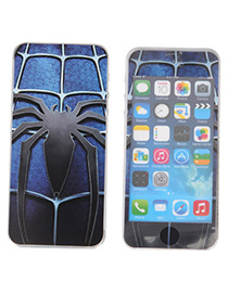Childrens Multicolor luminous spider pattern simple design (5/5S)