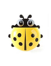 High Waist Yellow Ladybug Shape Simple Design Plastic Household Goods