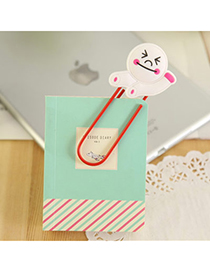 Fair White Bear Shape Simple Design Silicon Other Creative Stationery