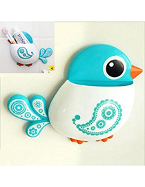 Attractive Blue Bird Shape Simple Design Plastic Household goods