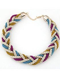 Occident Multicolor Weave Simple Design