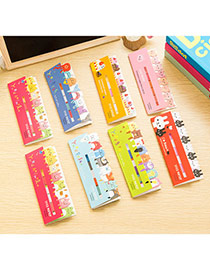 Lovely Random Color Cartoon Animal Pattern Simple Design Paper Other Creative Stationery