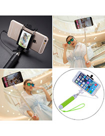 High-quality Green Self-timer Free Bluetooth Simple Design