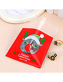 Sweet Red&green Horse Pattern Simple Design Polypropylene Jewelry Tools