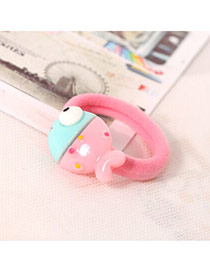 Sweet Pink&blue Fish Decorated Simple Design  Acrylic Hair band hair hoop