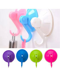 Concise Random Color Pure Color Simple Design  Silicon Household goods