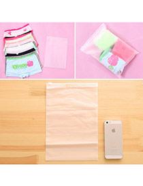 Fashion Purple Printing Uicorn Pattern Color Matching Storage Bag