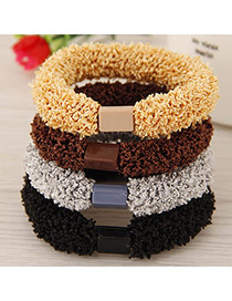 Sweet Random Pure Color Decorated Simple Hair Hoop&hair Band(1pcs)