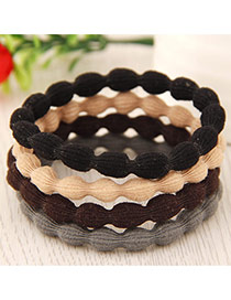 Elegant Random Pure Color Decorated Oval Shape Design Simple Hair Hoop&hair Band(1pcs)