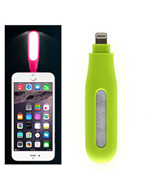 Fashion Cyan Pure Color Design Portable Mini Led Fill Light Artifact (iphone5/6/6s/plus)