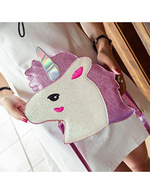 Fashion Black Cat Shape Decorated Bag