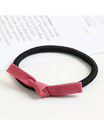 Sweet Watermelon Red Color Matching Decorated Bowknot Design Hair Band