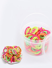 Lovely Multi-color Color Matching Decorated Simple Hair Band(100pcs)
