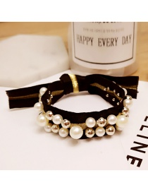 Fashion Gold Color Rivet Decorated Hair Band